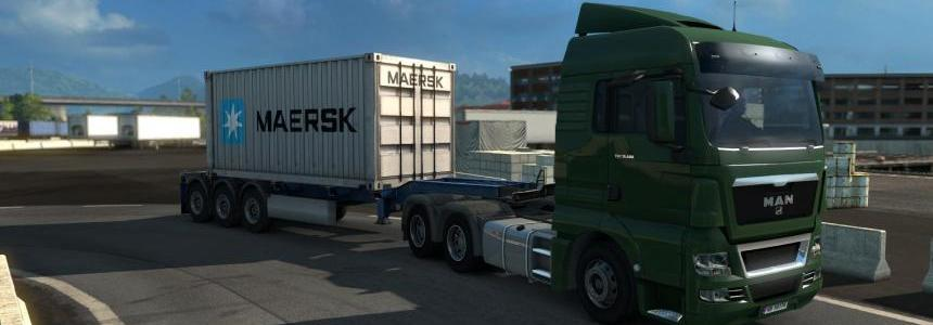 Maersk container trailer v1.31