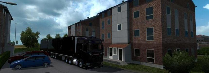 Map Europe Open v3.2 for ETS 2 1.32.x