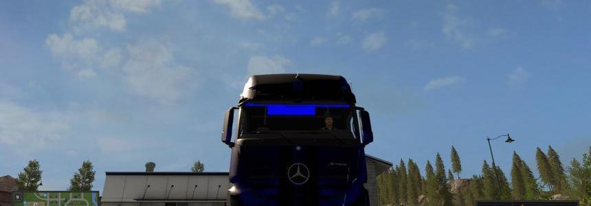 Mercedes-Benz Actros Neon v1.0