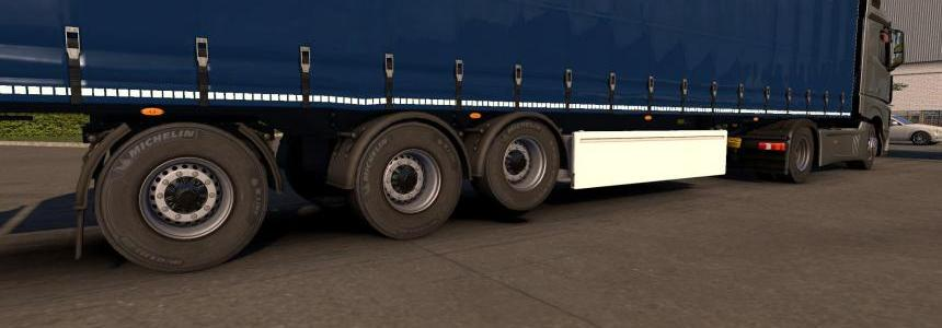 Michelin tires for trailer 1.32