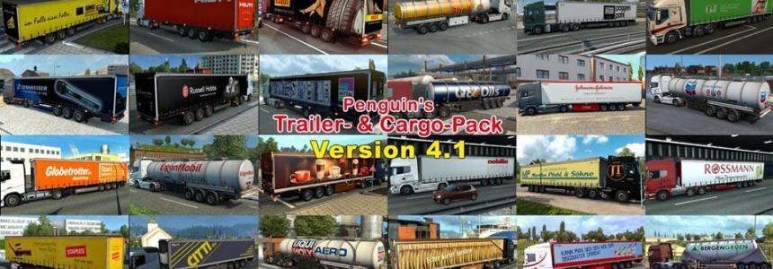 Penguins Trailer and CargoPack v4.1 1.31.x