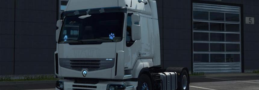 Renault Premium Route Rework 20.08.2018 1.31.x - 1.32.x