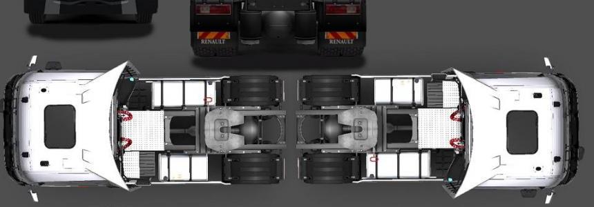 Renault Range T 480 Euro 6 v8 1.31.x