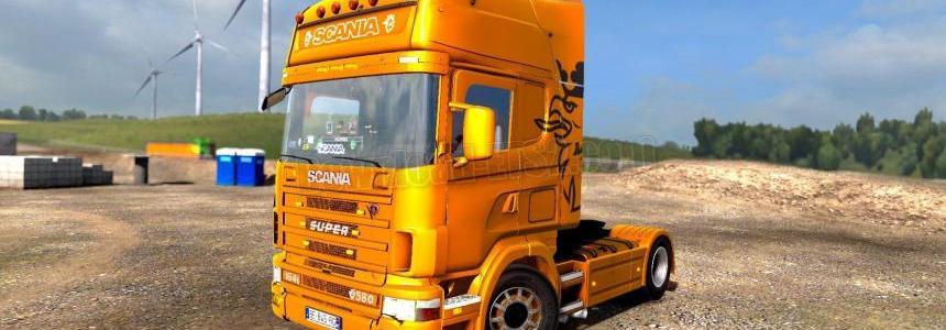 Scania 4 Series + Interior v1.0 1.31