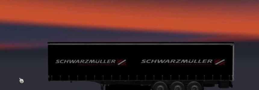 Schwarzmuller Black Trailer v1.0