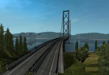M90 Forth Road Bridge Improvement Mod 1.32.x