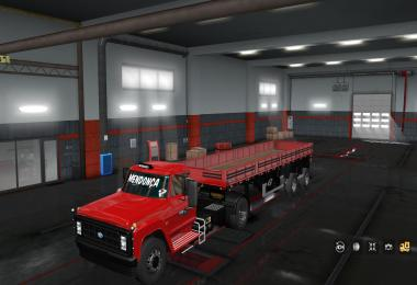 Ford F 14000 - brazilian old truck final