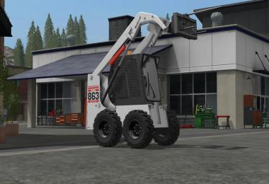 Bobcat 863 Turbo With Bobcat Shovel v1.1.0.0