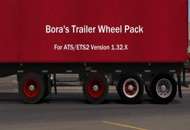 Bora's Trailer Wheel Pack for ATS 1.32B+ v1.0