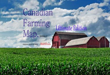 Canadian Farming Map Ultimate v2.0