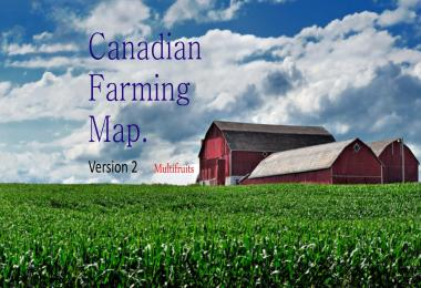 Canadian Farming Map v2.0