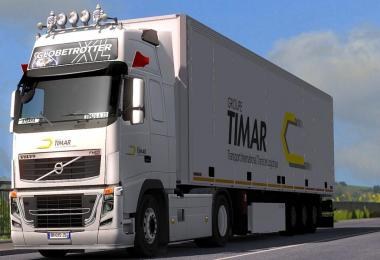 ComboSkin Group Timar Afriqa For ETS2 1.31