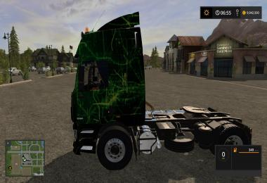 DAF XF 95 Green decal v1.0