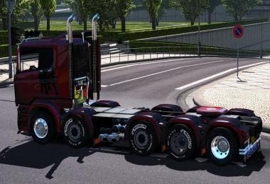 Dealer fix for Carls1309 Scania (Ilego) R&S v9.0