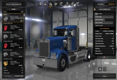 Engine and Transmission for Kenworth W900 v1.0