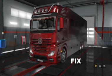 Fix for Mercedes Benz MP4 Actros Motorhome v1.0