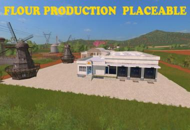 Flour Production Placeable v1.0