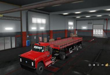 Ford F 14000 Brazilian Old Truck 1.32