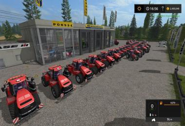 FS17 CaseIH Tractor Pack by Stevie