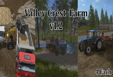 FS17 Valley Crest Farm 4x v1.2