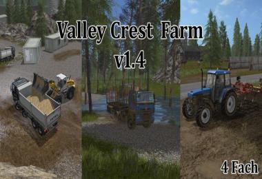 FS17 Valley Crest Farm 4x v1.4.0