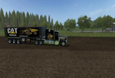 Caterpillar Trailer Bulk VE Peterbilt 388 VE v1.0