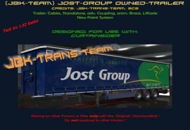 JBK JOST GROUP OWNED TRAILER v1.0