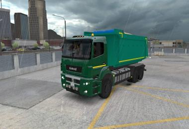 Kamaz 5490 65206 6580 for ATS (Dump + BDF trailer) v1.0