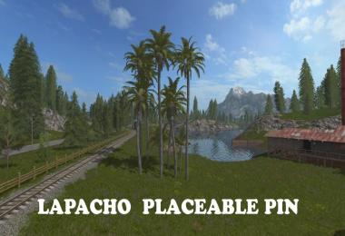 Lapacho Placeable Pin v1.0