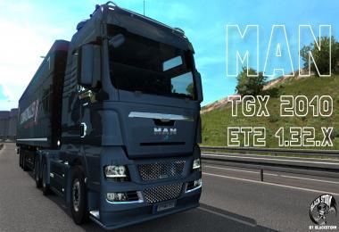 MAN TGX 2010 v5.4 (ETS2 1.32.x)