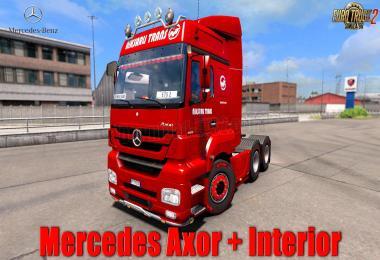 Mercedes Axor + Interior v1.0 1.31