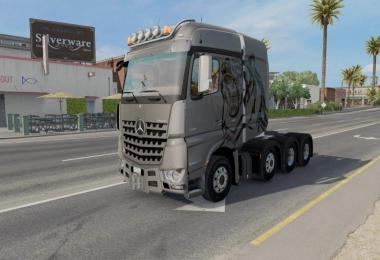Mercedes Trucks Mega Pack for ATS v1.0 1.31.x