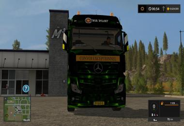 Mercedes VanderVlist Green Abstract v1.0