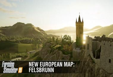 New European Map Felsbrunn Featurette