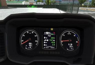 New Gen Scania Dashboard Computer Fix for 1.32