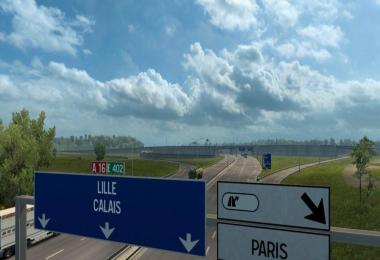 Calais A16 and A216 Highway Junction Mod v1.0