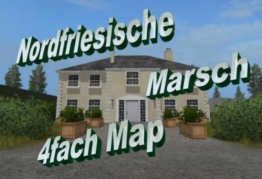 North Frisian march 4-fold map v2.1