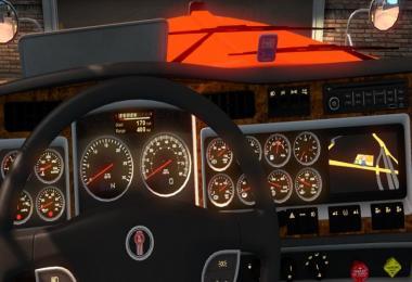 Onboard computer Kenworth W900 v3.0 (upd.24.08.18)