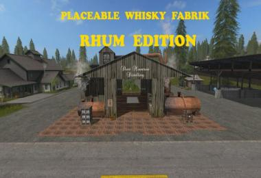 Placeable Whiskey Factory RHUM Edition Final