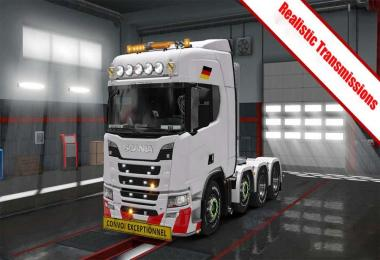 Realistic Transmissions For all Trucks 1.31