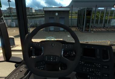 Scania 2016 S and R Steering Wheel Animations v1.0