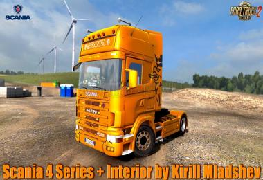 Scania 4 Series + Interior v1.0 1.31