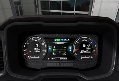 Scania S dashboard computer v1.2.2 1.32.x