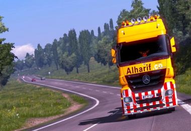 Skin Alharif .co Special Transport For ETS2 1.31