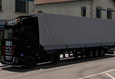 Skin Black Liner Mercedes For ETS2 1.31