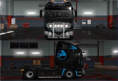 Skin Iveco Hi-Way PaintJob For ETS2 1.31