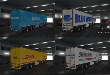 Skin Pack for Trailers SCS v1.1 1.32