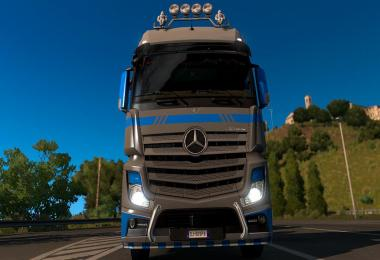 Skin PaintJob Mp4 For ETS2 1.32