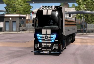 Skin PaintjobActors v1 For ETS2 1.31