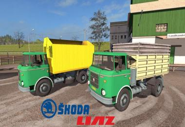 Skoda Liaz 706 with swap bodies v1.1.0.3